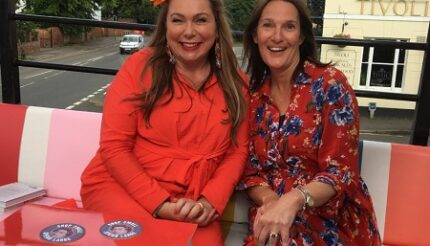 Holly Tucker and Anne Wall of ActionCOACH Cheltenham